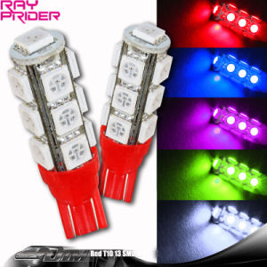 13LED LED T10 Wedge Car Light Bulb
