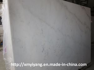 Chinese Carrara White Marble Slab pictures & photos