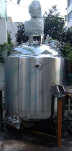 China 1000L Pharmaceutical Stainless Steel Mixing Tanks