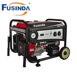5kVA Home Standby Gasoline Fuel Portable Battery Powered Generator (FB6500E) pictures & photos