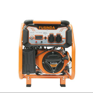 3 kVA Portable Gasoline Generator with Key Starter pictures & photos