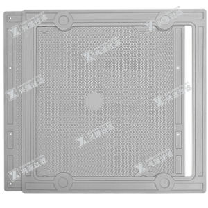 Plate and Frame Filter Plate for Wastewater Treatment