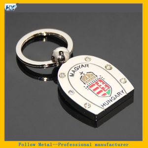 Hungary National Emblem Key Chain Hungary Horseshoe Keyring Tourist Souvenirs Keychain pictures & photos