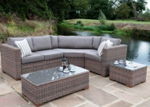 Lounge sofa rattan  China Outdoor Rattan Lounge Sofa Set Garden Patio Wicker Furniture ...