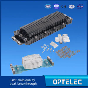 Fiber Optic Splice Closure 2inlets and 2 Outlet Optics pictures & photos