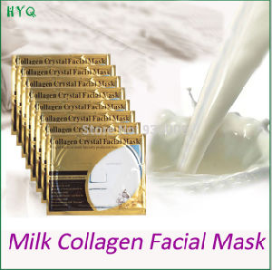 Gold Bio Milk Collagen Crystal Facial Mask Whitening Moisturizing Facial Mask pictures & photos