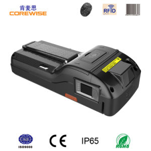 Handheld POS Machine with RFID/Fingerprint/Printer/Barcode pictures & photos