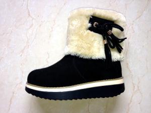 Ladies EVA Outsole Snow Boots pictures & photos