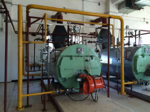 Residential Area Oil Fired Light Oil Diesel Gas Fired Steam Water Boiler pictures & photos