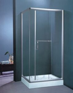 Contemporary Style Stainless Steel Frame 8mm Tempered Glass Shower Enclosure (H003B) pictures & photos