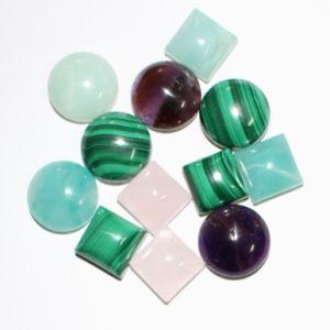 Semi Precious Tone Crystal Amethyst Cabochon pictures & photos