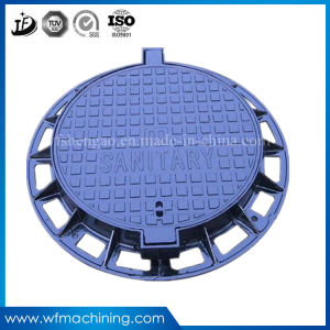 OEM Cast Iron Casting Sewer Cover Heavy Duty Double Sealed Metal Manhole Cover for Recessed Drain Cover pictures & photos