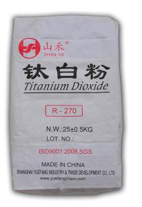 High Quality TiO2 (R-270) Titanium Dioxide Rutile for Coating pictures & photos