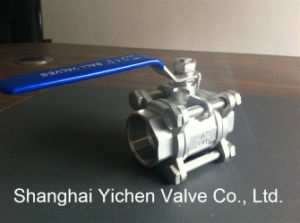 3 PC Hand Movement Hard Seated Ball Valve (Q11H) pictures & photos