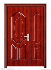 Superior Quality Sound Insolution Wooden Door pictures & photos
