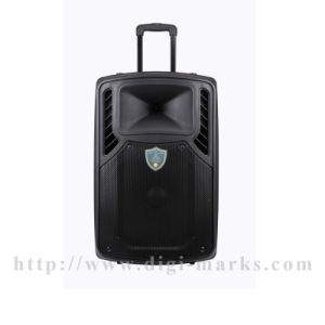 Guangzhou Shinco Wireless Microphone, Remote Controller, Bluetooth Function Optional Trolley Speaker pictures & photos