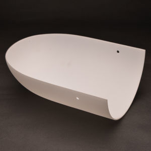 Top Quality Handblown ADA Wall Lamp Glass Shade pictures & photos