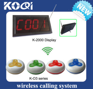 433.92MHz Restaurant Equipment Guest Calling System pictures & photos