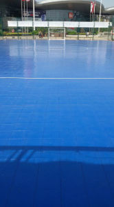 High Quality Indoor PVC and PP Interlock Sports Floor for Soccer Ground pictures & photos