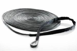 "7/16""X125′-Stainless Thimble Assembled Winch Line/Winch Rope/Tow Rope/Offroad Line/Safety Rope"