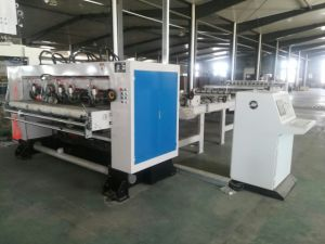 Single Face Paper Nc Slitter & Nc Cutter & Stacking Machine pictures & photos