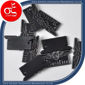 Any Shape Plastic Tag with Embossed Logo pictures & photos