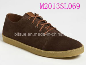 Leather Sneaker Shoes (M2013SL069) pictures & photos