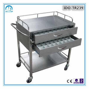 Stainless Steel Medication Trolley pictures & photos