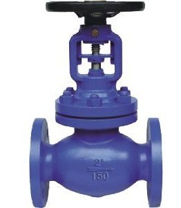 ASTM Flanged Globe Valve (J41H-150LB) pictures & photos