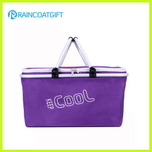 Rbc-098 New Style Aluminum Frame Folding Shopping Cooler Basket pictures & photos