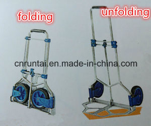 Competitive Price Folding Hand Trolley with Two Wheels pictures & photos