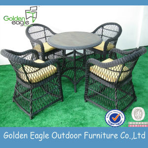 Outdoor Garden Rattan Table and Chairs