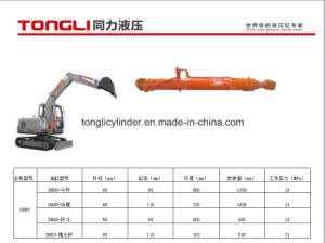 Dh60 Doosan Excavator Dozer Blade Cylinder / Hydraulic Cylinder Manufacture pictures & photos