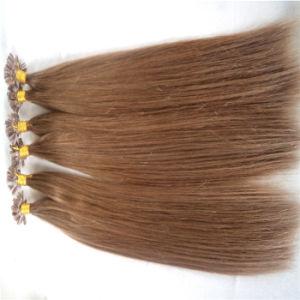 Cheap Nail U-Tip Pre-Bonded Hair Extension 100% Real Human Hair pictures & photos