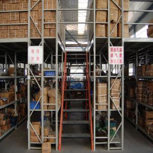 Adjustable Board Warehouse Multi-Level Mezzanine Flooring Rack pictures & photos