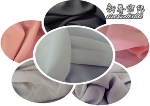 100% Polyester Chiffon Fabric for Garment pictures & photos
