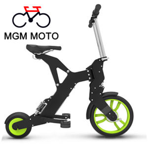 Two Wheels Folding Mountain Electric Bicycle pictures & photos