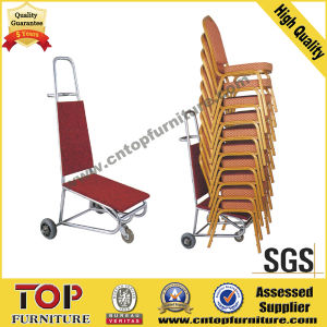 Hotel Mobile Cart for Banquet Chair pictures & photos
