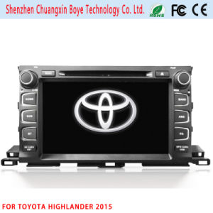 2DIN Car DVD/MP4 Player for Toyota Highlander 2015 pictures & photos