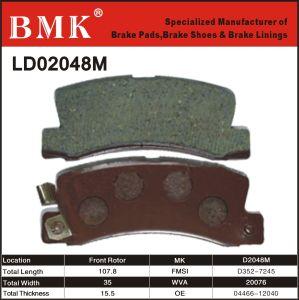 Wear Resistant Brake Pads (D2048M) pictures & photos