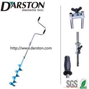 U-Style Curve Ice Blade Hand Ice Auger/Drill with Extension pictures & photos
