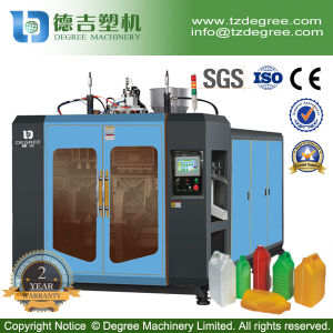 5liter Double Station Full Automatic HDPE Bottle Extrusion Blow Moulding Machine pictures & photos