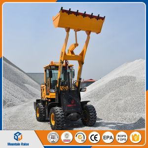 China Mini Loader Price 1.2 Ton Loader Zl12 Wheel Loader Farm Tractor Ce ISO pictures & photos