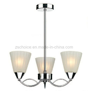 Three Down Light Crystal Pendant Lamp Chandelier