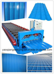 Glazed Tile Forming Machine/ Color Steel Roof Making Machine pictures & photos