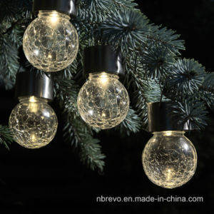 Solar Crakle Ball Hanging Light for Garden Outdoor Decoration (RS113) pictures & photos