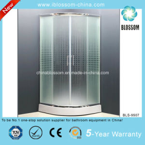 Frosted Glass Simple Shower Room Shower Enclosure Shower Cabin (BLS-9507) pictures & photos