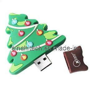 Customized USB Flash Drive for Christmas Gifts pictures & photos