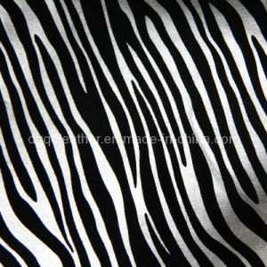 Zebra Grain Furniture PU Leather (QDL-FP0050) pictures & photos
