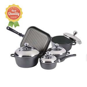 9PCS Die-Cast Aluminum Non-Stick Cookware Set pictures & photos